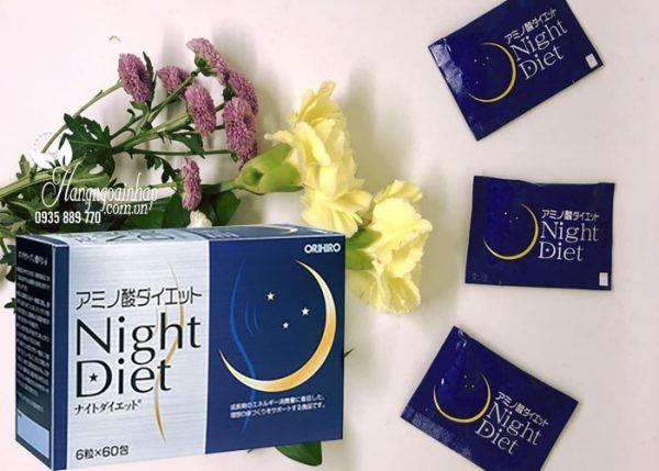Viên uống giảm cân Night Diet Orihiro Nhật Bản - Giá sĩ