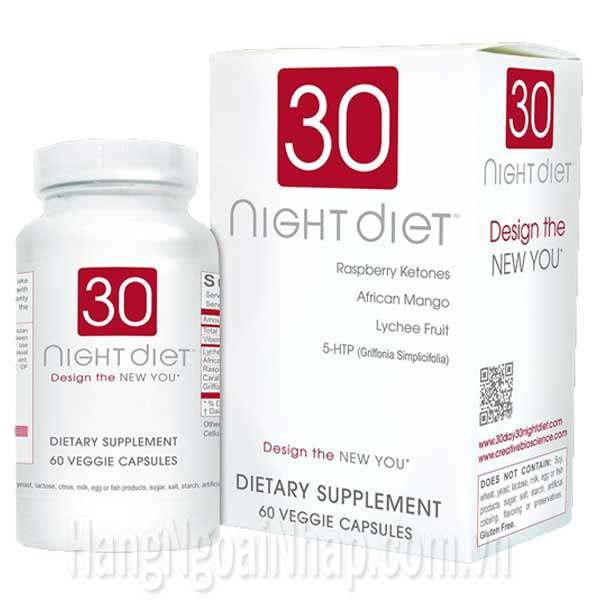 Điều bất ngờ từ công dụng thuốc giảm cân 30 day diet của mỹ