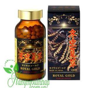 Đông trùng hạ thảo Tohchukasou Royal Gold 420 viên Nhật Bản