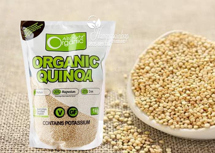 Hạt diêm mạch Organic Quinoa của Úc có tốt không?