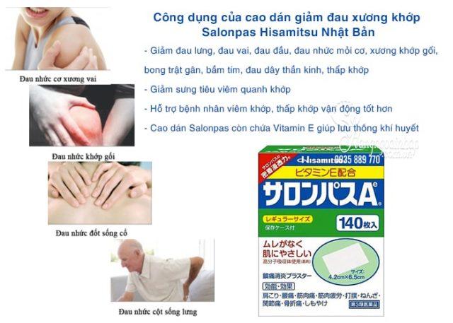 cao-dan-giam-dau-xuong-khop-salonpas-hisamitsu-140-mieng-nhat-ban-2