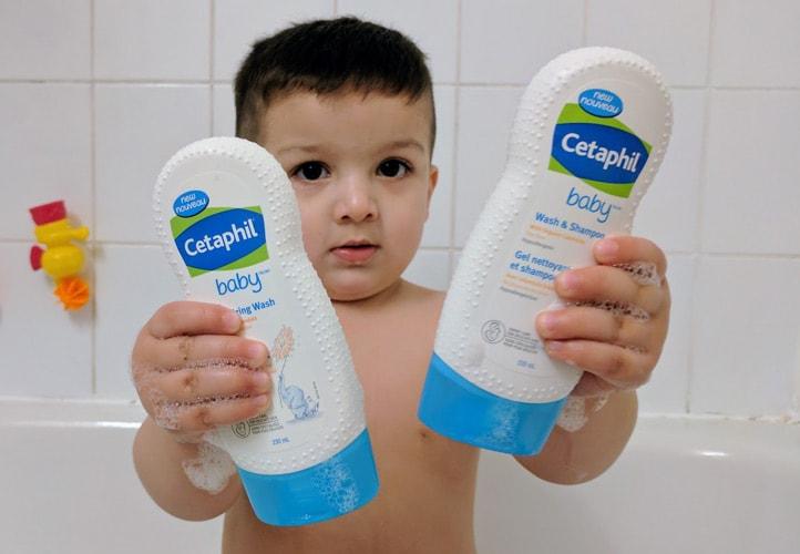 Sữa tắm gội Cetaphil Baby cho bé, trẻ sơ sinh Review