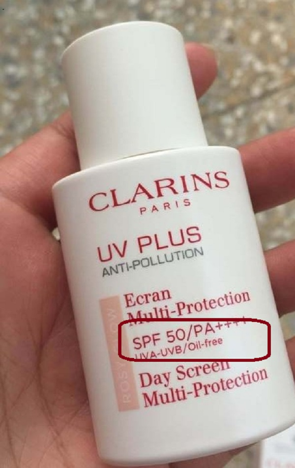 Clarins UV Plus Anti-Pollution Rosy Glow Pháp