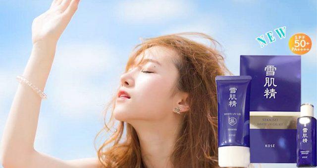 Kem chống nắng kose dành cho da dầu có được không?