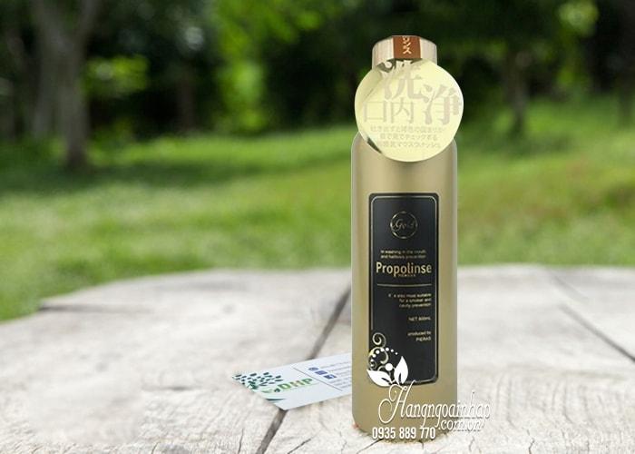 Nước súc miệng Propolinse Gold 600ml Nhật Bản 1