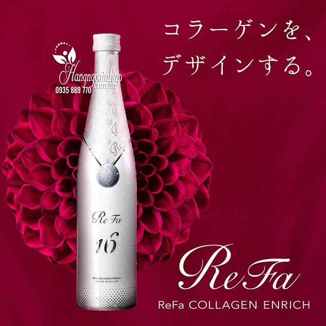 Review về Refa Collagen Enricher 480ml