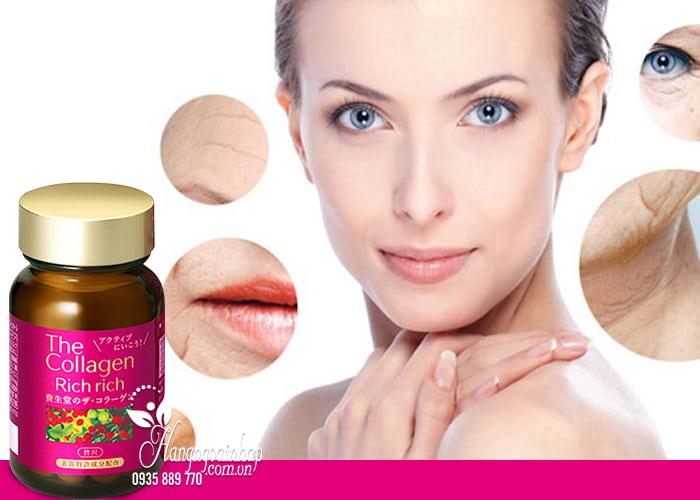 The collagen rich rich shiseido dạng viên có tốt không?