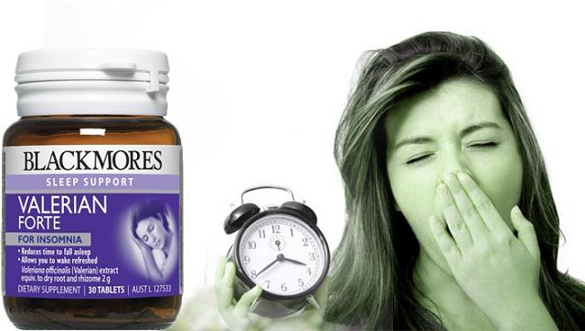 Viên hỗ trợ giấc ngủ Blackmores Valerian Forte 30 viên của Úc 1