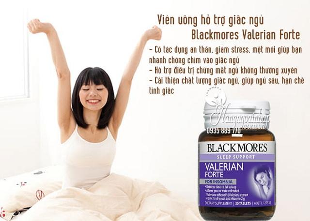 Viên hỗ trợ giấc ngủ Blackmores Valerian Forte 30 viên của Úc 3