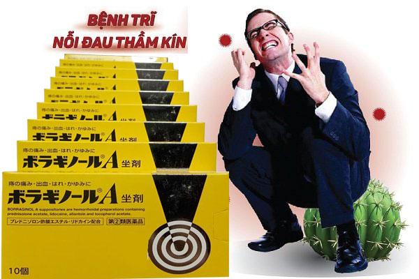 Công dụng thuốc đặt chữ A của Nhật
