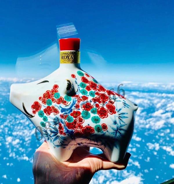 rượu hình con heo Nhật