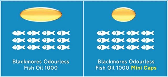 Dầu cá không mùi Blackmores 400 viên chính hãng Úc 2