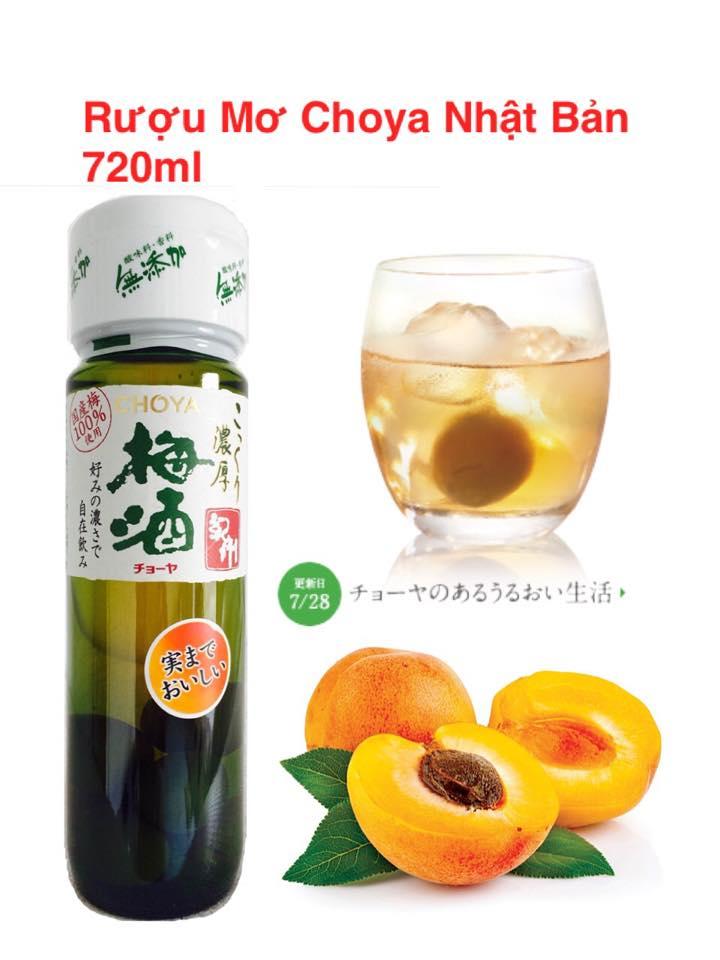 rượumơChoya của Nhật