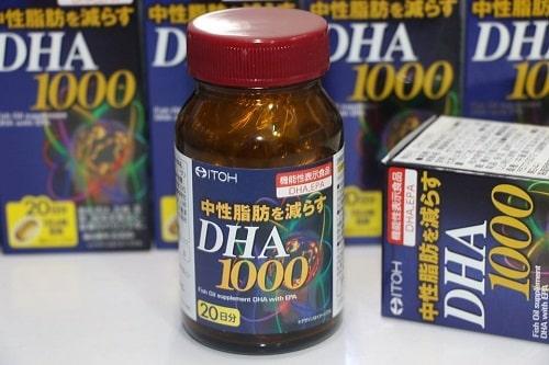 Viên uống bổ não Itoh DHA và EPA có tốt không?