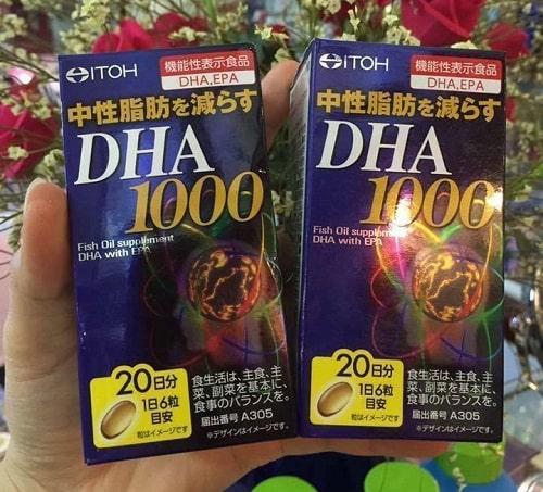 Thuốc bổ não Itoh DHA và EPA nên uống vào thời điểm nào trong ngày-2