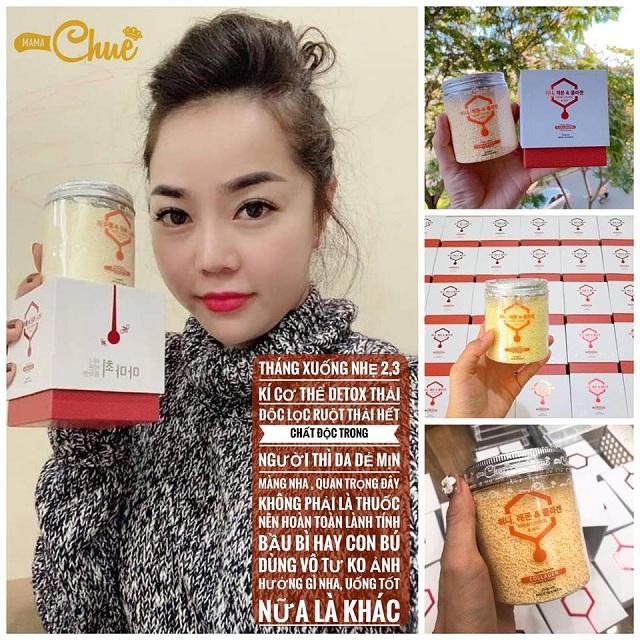 Bột collagen khô Mama Chuê cô đặc giảm cân, đẹp da cho mẹ bỉm sữa 4