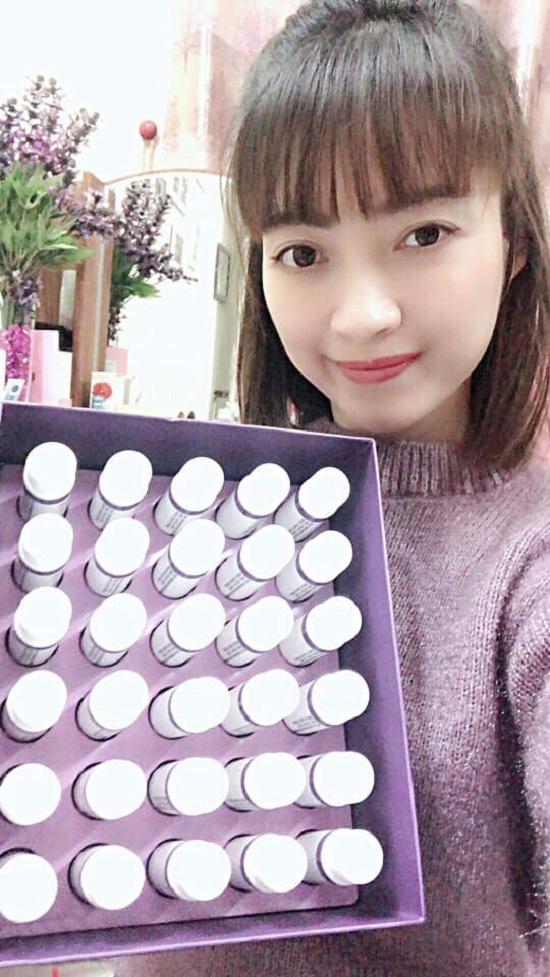 Nước uống Saffron Collagen 3000mg Hàn Quốc hộp 30 chai 2