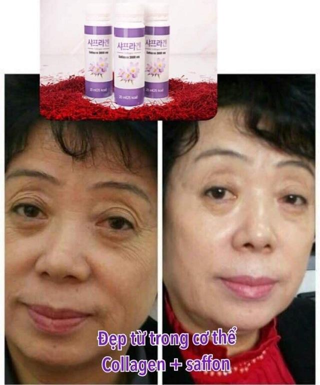 Nước uống Saffron Collagen 3000mg Hàn Quốc hộp 30 chai 3
