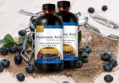 Tinh chất nước việt quất Neocell Hyaluronic Acid 473ml giá tốt 1