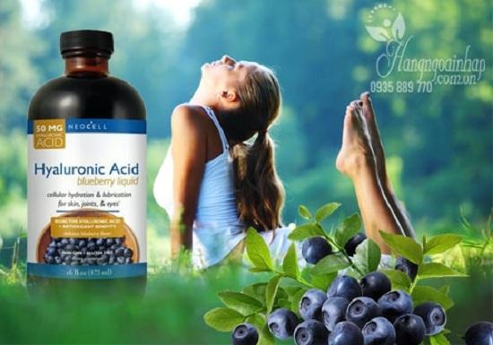 Tinh chất nước việt quất Neocell Hyaluronic Acid 473ml giá tốt 2