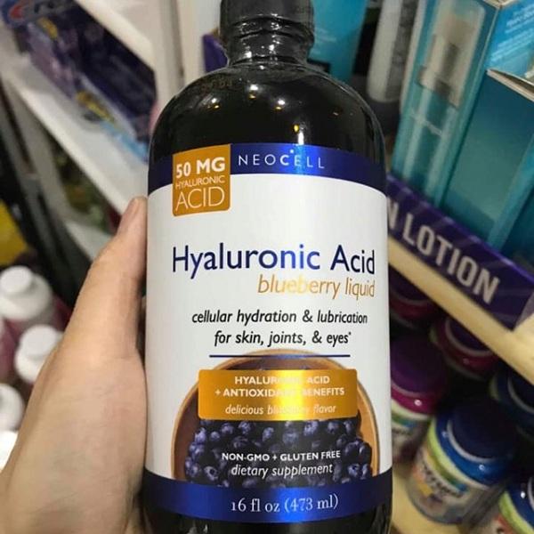 Tinh chất nước việt quất Neocell Hyaluronic Acid 473ml giá tốt 4