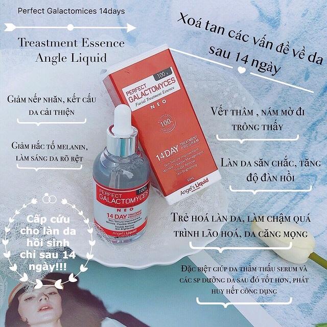 Tinh chất 14 Days Perfect Galactomyces Angel's Liquid Hàn Quốc 2