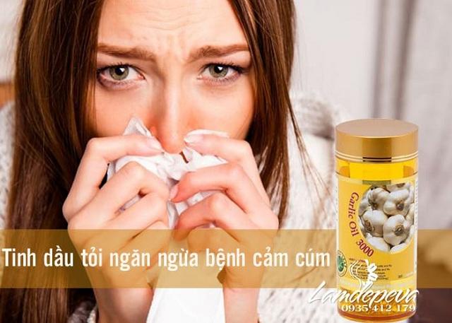 Tinh dầu tỏi Garlic Oil 3000mg Spring Leaf chính hãng, giá đại lý 1