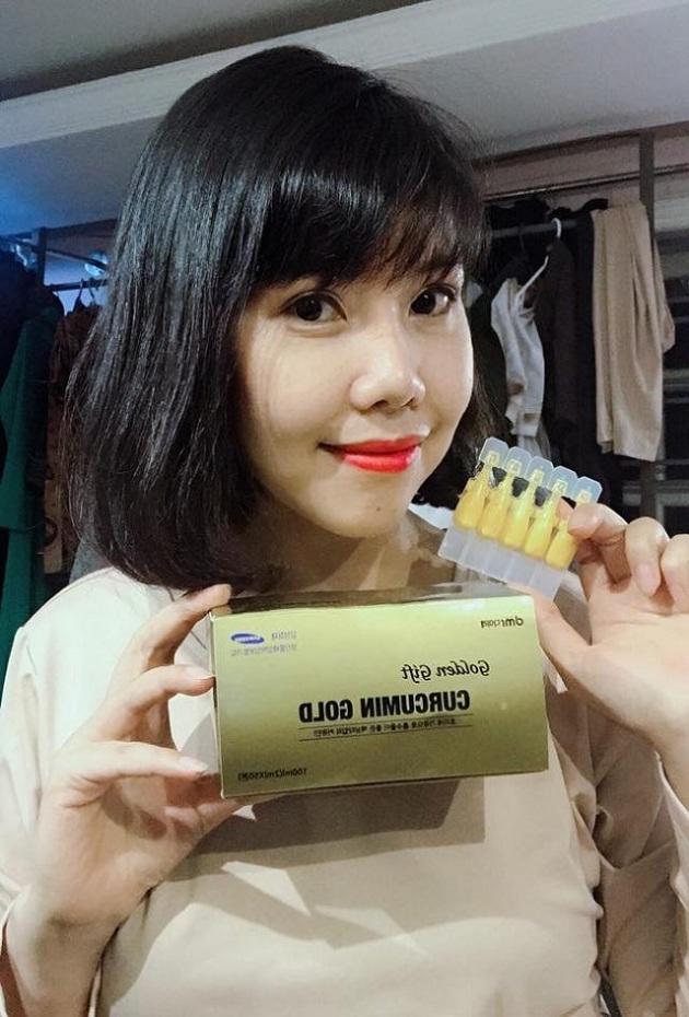 Nghệ Nano Curcumin Gold Golden Gift Hàn Quốc chính hãng 1