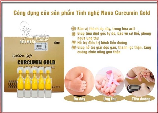 Nghệ Nano Curcumin Gold Golden Gift Hàn Quốc chính hãng 2