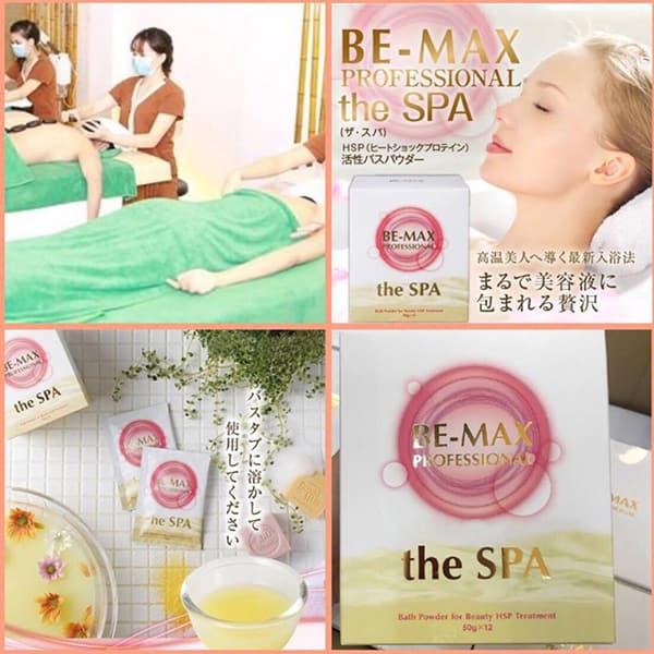 Bột tắm trắng cao cấp Be-Max The Spa Nhật Bản, hộp 12 gói 2