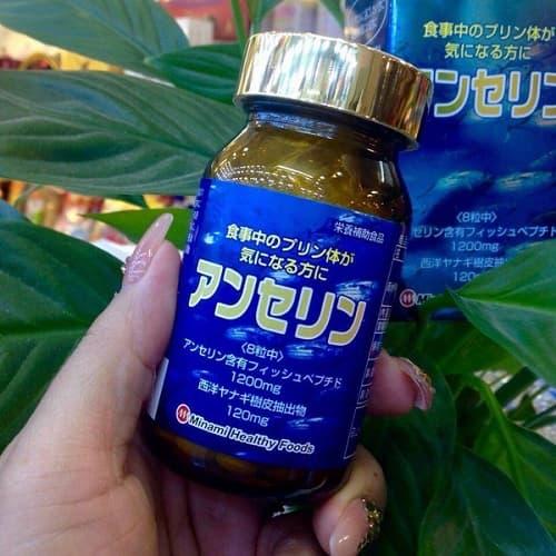 Thuốc trị gout Anserine Minami có tốt không-3