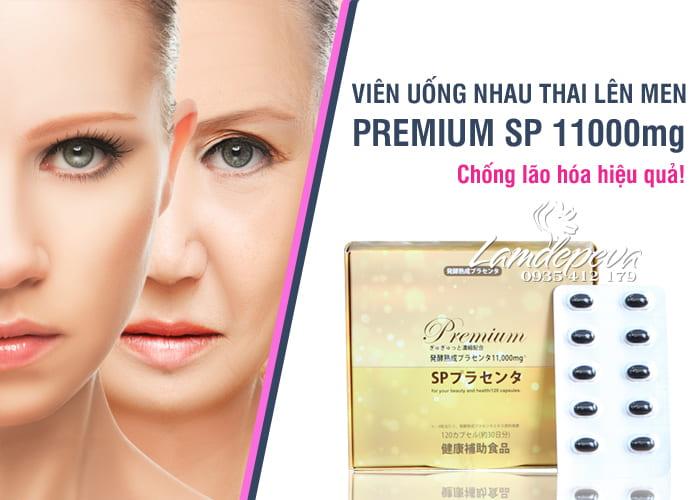 Nhau thai lên men Premium SP 11000mg cao cấp Nhật Bản 4
