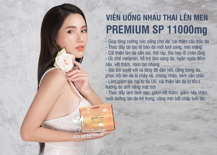 Nhau thai lên men Premium SP 11000mg cao cấp Nhật Bản 9