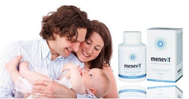 Thuốc Menevit 90 viên của Úc tăng chất lượng tinh trùng, thụ thai 1