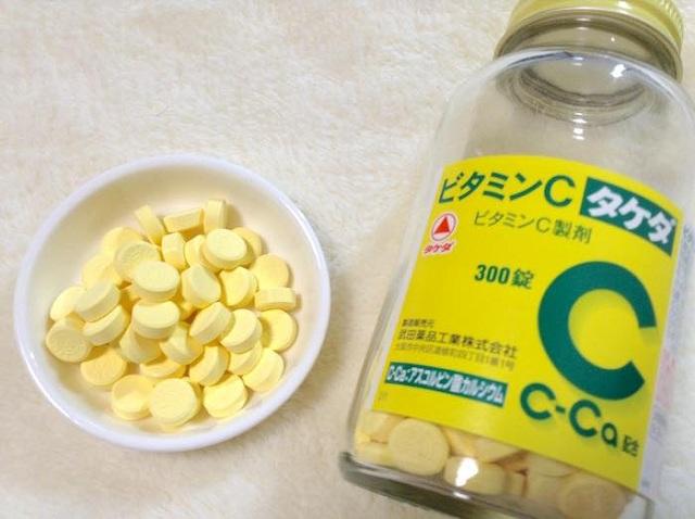 Viên uống Vitamin C 2000mg Takeda trị nám của Nhật Bản, 300 viên 5