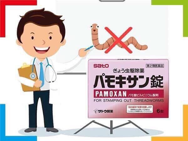 Giá thuốc tẩy giun pamoxan của Nhật tại đại lý và cách sử dụng hiệu quả