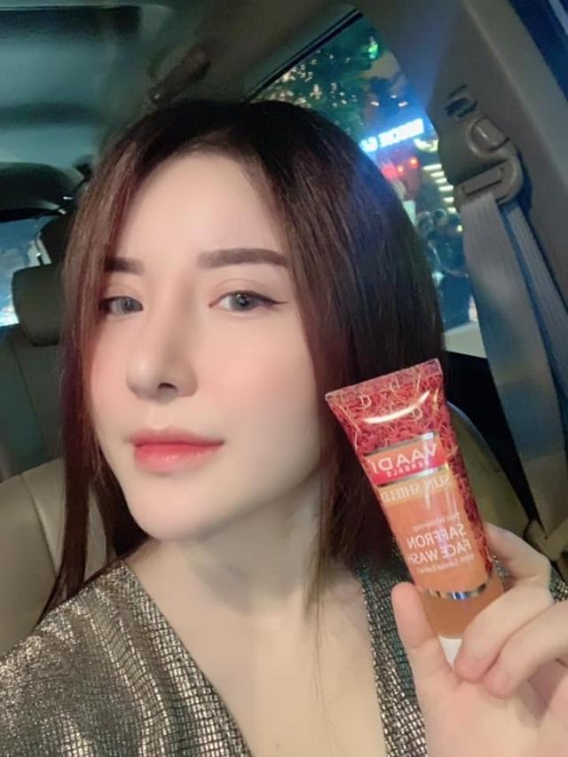 Sữa rửa mặt Saffron Face Wash Vaadi tuýp 60ml chính hãng 3