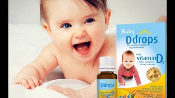 Baby Ddrops Vitamin D3 của Mỹ 90 giọt cho trẻ sơ sinh 3