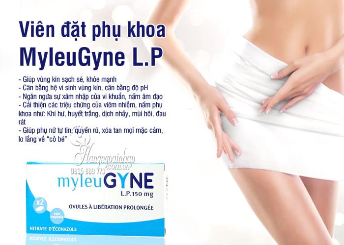 Viên đặt phụ khoa Pháp MyleuGyne L.P 150mg hiệu quả lâu dài 8