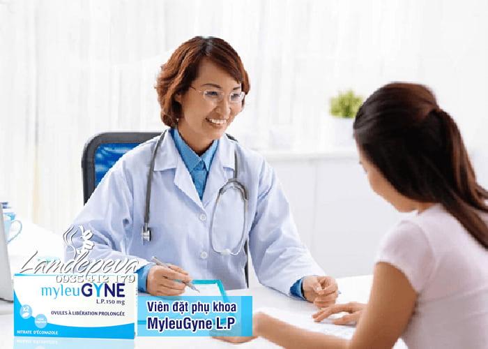 Viên đặt phụ khoa Pháp MyleuGyne L.P 150mg hiệu quả lâu dài 1