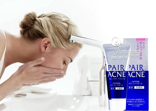 Sữa rửa mặt trị mụn Pair Acne Nhật Bản, dành cho da nhạy cảm 5