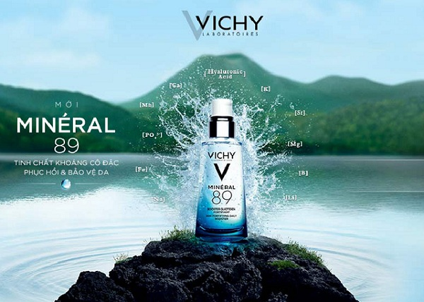 Tinh chất khoáng cô đặc Vichy Mineral 89 của Pháp 1