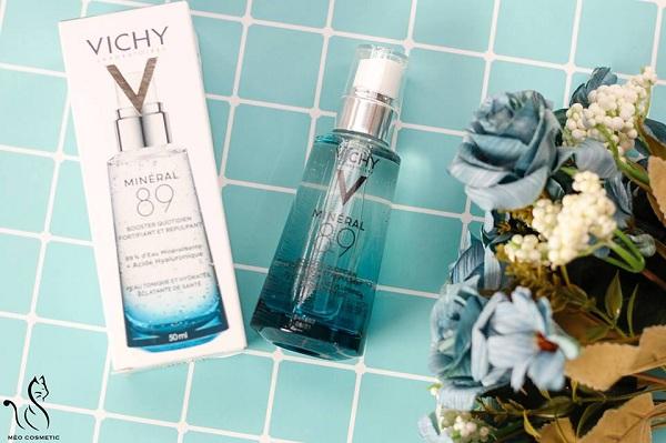 Tinh chất khoáng cô đặc Vichy Mineral 89 của Pháp 5