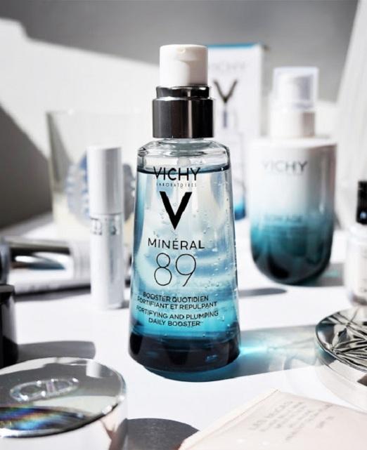 Tinh chất khoáng cô đặc Vichy Mineral 89 của Pháp 2