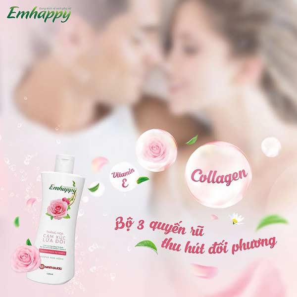 Dung dịch vệ sinh phụ nữ hoa hồng quyến rũ cho nàng nên biết 1