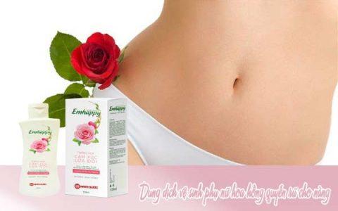 Dung dịch vệ sinh phụ nữ hoa hồng quyến rũ cho nàng nên biết