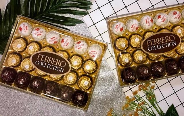 Socola Ferrero Collection 24 viên có 3 hương vị, giá gốc đại lý 78