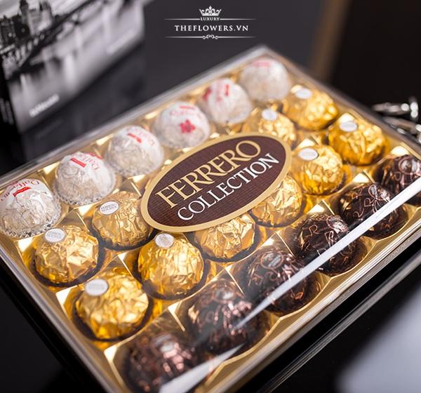 Socola Ferrero Collection 24 viên có 3 hương vị, giá gốc đại lý 1