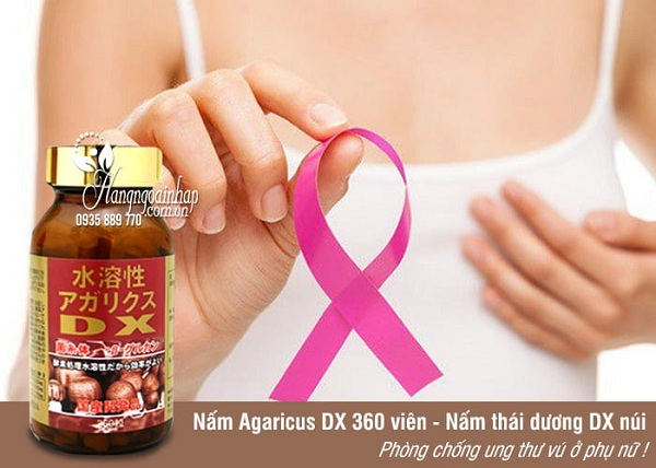 Nấm Agaricus DX Yuuki 360 viên Nhật Bản ngừa ung thư 1