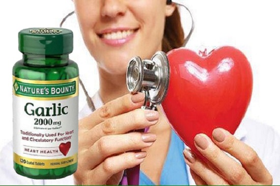 Garlic 2000mg Heart Health Nature's Bounty tinh dầu tỏi Mỹ 3